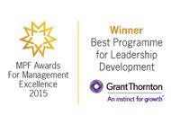 Best Programme for Leadership Development in 2015